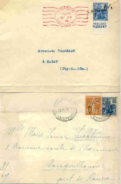 obliterations maritimes et navales sur le timbre jeanne d 39 arc de 1929. Black Bedroom Furniture Sets. Home Design Ideas